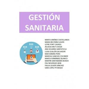 GESTIÓN SANITARIA